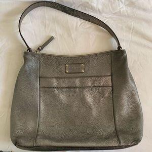 Kate Spade Silver Metallic Shoulder Bag